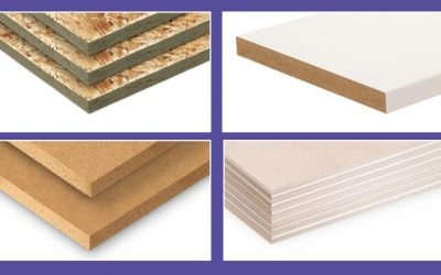 What are the different types of sheet materials and uses?